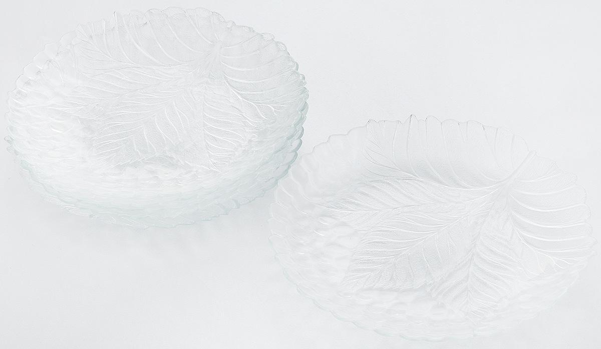 Набор тарелок Pasabahce Sultana, диаметр 24 см, 6 шт10288BНабор Pasabahce Sultana состоит из 6 тарелок, выполненных из высококачественного натрий-кальций-силикатного стекла. Изделия предназначены для красивой сервировки различных блюд. Набор сочетает в себе изысканный дизайн с максимальной функциональностью.