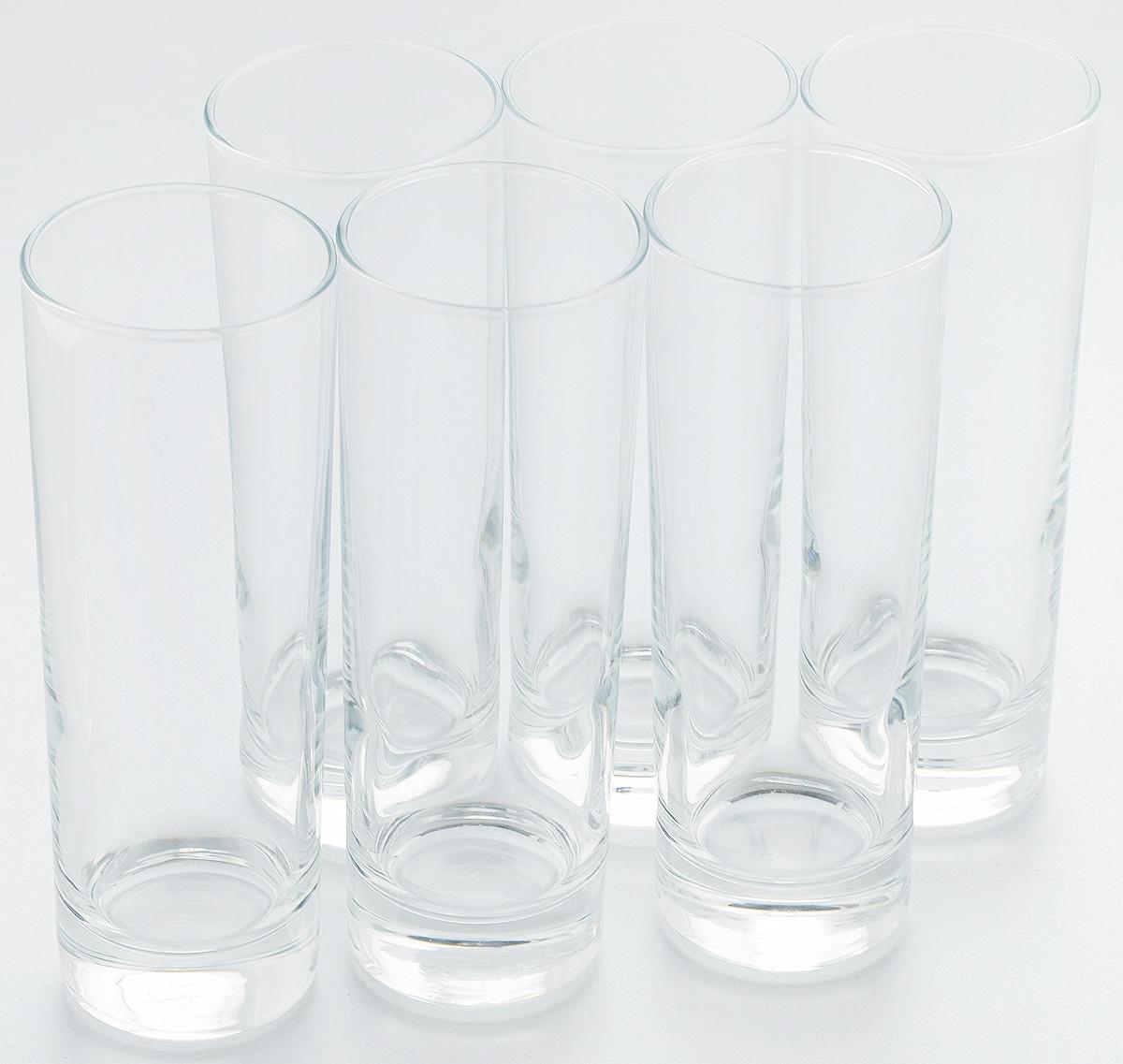 Набор стаканов Pasabahce Side, 290 мл, 6 шт. 42469B42469BНабор Pasabahce состоит из шести стаканов, выполненных из натрий-кальций-силикатного стекла. Изделия предназначены для подачи сока, воды, компота и других напитков. Такие стаканы станут идеальным украшением праздничного стола и отличным подарком к любому празднику. Высота стакана: 17 см.