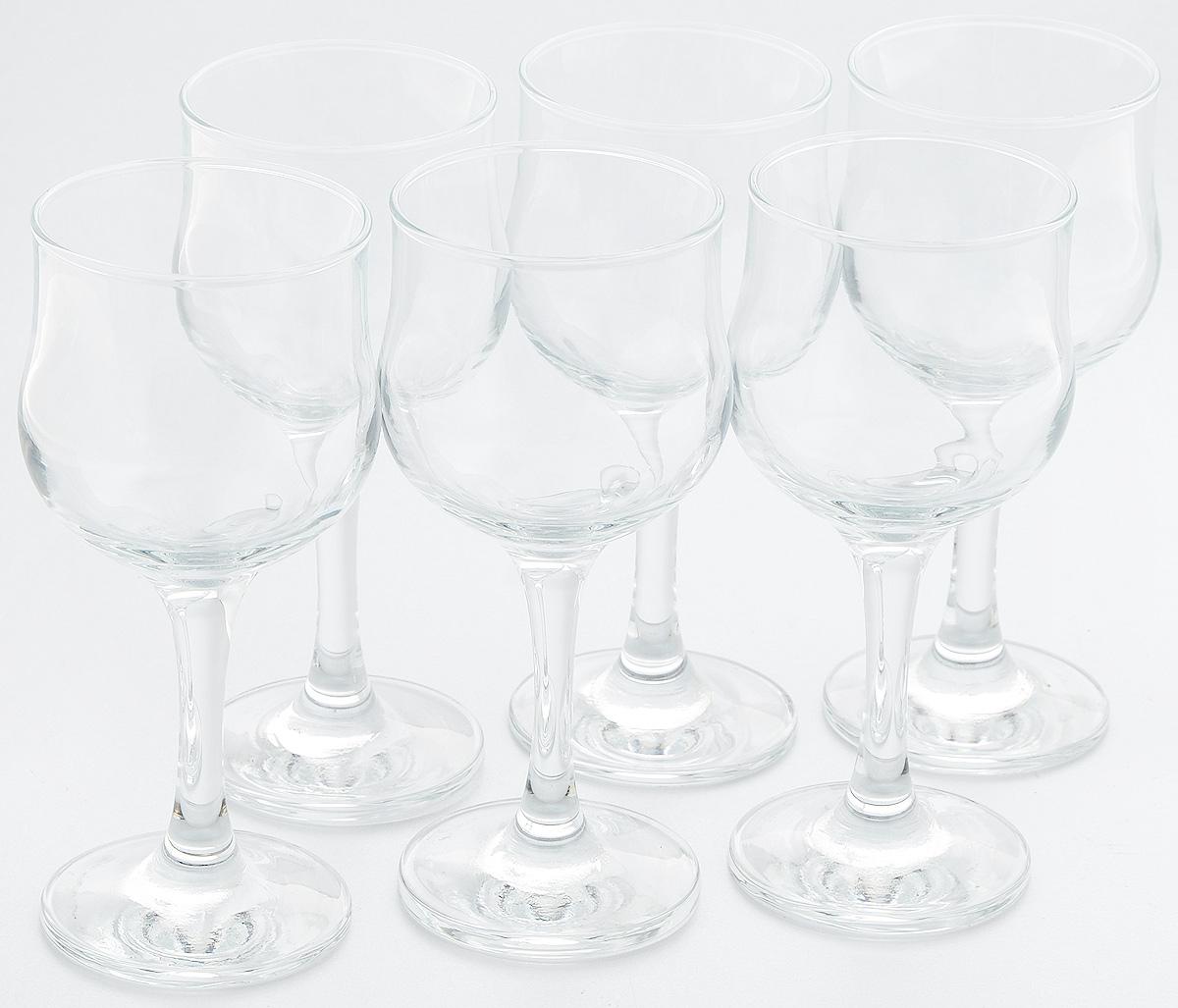 Набор бокалов для белого вина Pasabahce Tulipe, 200 мл, 6 шт44167BНабор Pasabahce Tulipe состоит из шести бокалов, выполненных из прочного натрий-кальций-силикатного стекла. Бокалы, предназначенные для подачи белого вина, сочетают в себе элегантный дизайн и функциональность. Набор бокалов Pasabahce Tulipe прекрасно оформит праздничный стол и создаст приятную атмосферу за романтическим ужином. Такой набор также станет хорошим подарком к любому случаю. Высота бокала: 16 см.