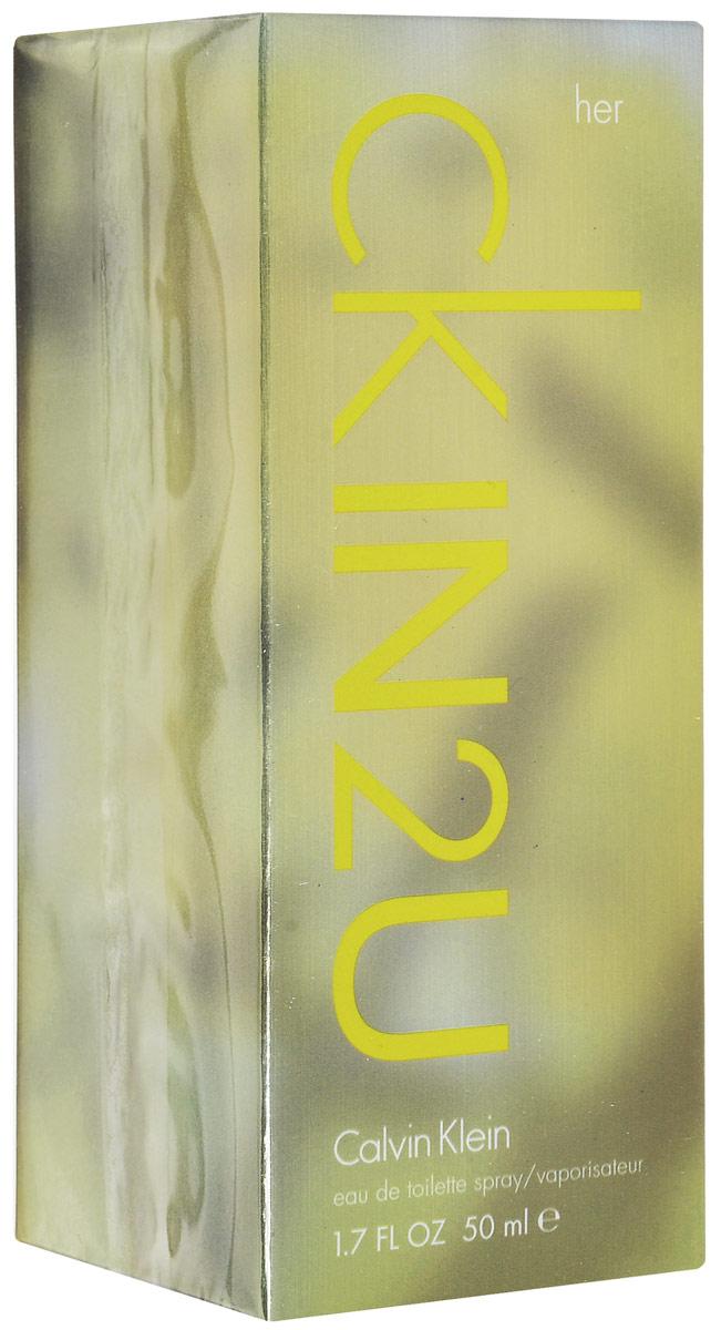 Calvin Klein Ck In2u Women Туалетная вода 50 мл