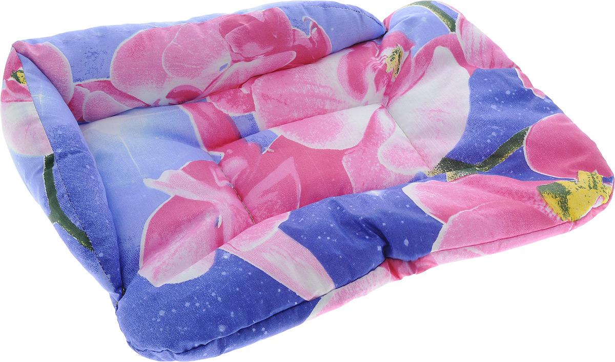 Лежак для животных Elite Valley Софа, цвет: фиолетовый, розовый, 46 х 33 х 11 см. Л-5/10120710Лежак для животных Elite Valley Софа изготовлен из высококачественной бязи, наполнитель - холлофайбер. Он станет излюбленным местом вашего питомца, подарит ему спокойный и комфортный сон, а также убережет вашу мебель от многочисленной шерсти. На таком лежаке вашему любимцу будет мягко и тепло.