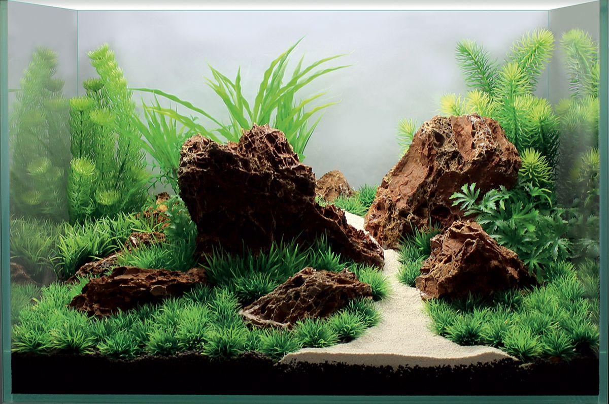 Набор декораций для аквариума ArtUniq Скалистый ручей, 60 x 40 x 40 смART-4116800Набор декорация для аквариума ArtUniq Скалистый ручей поможет вам создать из своего аквариума произведение искусства. Содержит различные виды растений. Практичный элемент впишется в любой подводный пейзаж, превращая обычный аквариум в притягивающий внимание предмет интерьера. Каждый, кто увидит его, удивится резвящимся в нем рыбкам, которым больше никогда не будет скучно. Все компоненты этого украшения сделаны из химически нейтрального материала. Он не меняет состав и основные параметры воды, постоянно оставаясь безопасным для обитателей аквариума. Благодаря декорациям ArtUniq вы сможете смоделировать потрясающий пейзаж на дне вашего аквариума или террариума. Общий размер декорации (в собранном виде): 60 х 40 х 40 см. Высота растений: 4,5-34 см.