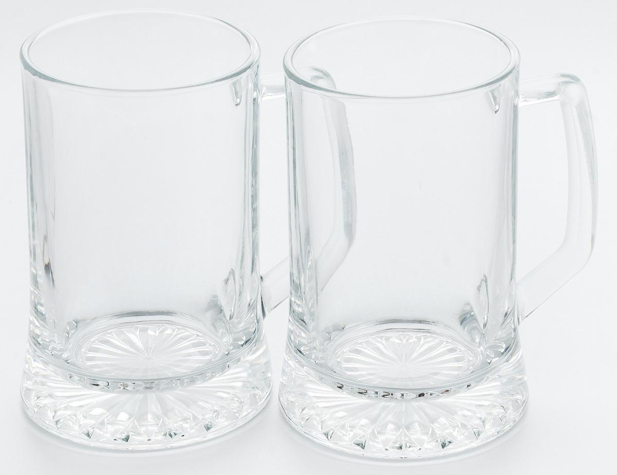 Набор кружек для пива Pasabahce Pub, 670 мл, 2 шт55239BНабор Pasabahce Pub состоит из двух кружек, выполненных из прочного натрий-кальций- силикатного стекла. Кружки оснащены ручками и прекрасно подходят для подачи пива. Функциональность, практичность и стильный дизайн сделают набор прекрасным дополнением к вашей коллекции посуды. Можно мыть в посудомоечной машине и использовать в микроволновой печи до +70°С.
