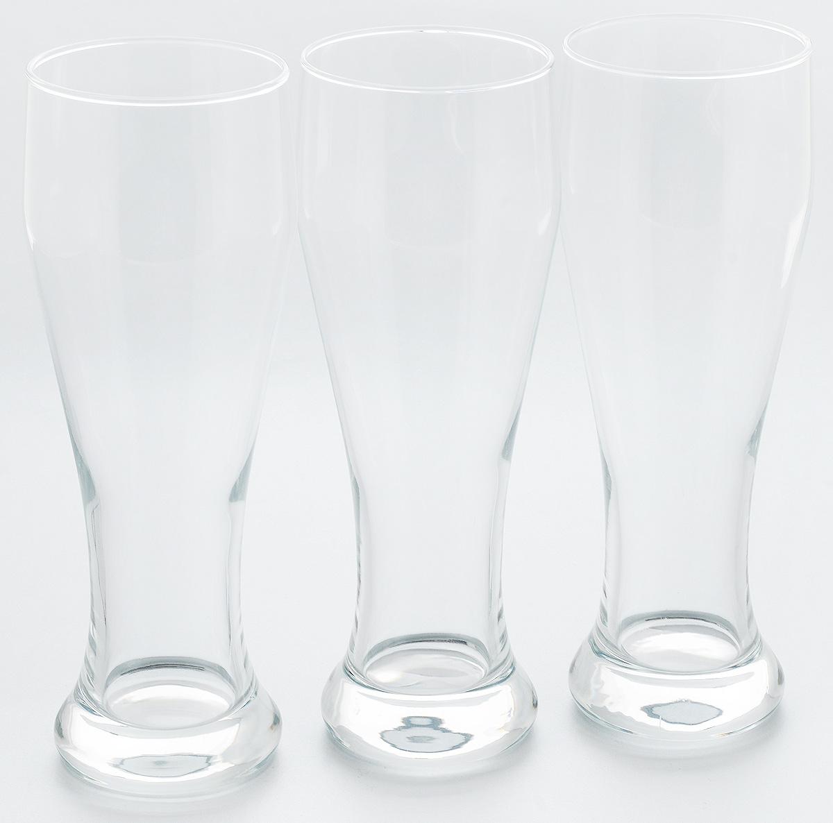 Набор стаканов для пива Pasabahce Pub, 665 мл, 3 шт42756//Набор Pasabahce Pub состоит из трех стаканов, выполненных из прочного натрий-кальций-силикатного стекла. Стаканы, оснащенные утолщенным дном, предназначены для подачи пива. Такой набор прекрасно подойдет для любителей пенного напитка. Стаканы можно использовать микроволновой печи до +70° С и холодильнике. Также подходят для мытья в посудомоечной машине. Высота стакана: 13,5 см. Диаметр стакана: 8 см. Диаметр дна: 7 см.