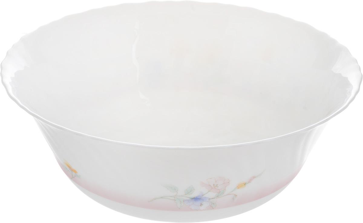 Салатник Luminarc Elise, диаметр 24,5 см38791Салатник Luminarc Elise, изготовленный из высококачественного стекла, прекрасно впишется в интерьер вашей кухни и станет достойным дополнением к кухонному инвентарю. Салатник оформлен нежным рисунком. Такой салатник не только украсит ваш кухонный стол и подчеркнет прекрасный вкус хозяйки, но и станет отличным подарком.