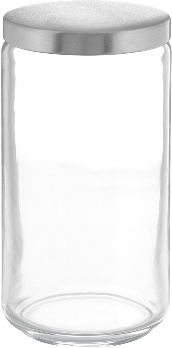 Банка для сыпучих продуктов Luminarc Boxmania, 1,5 л48831Банка Luminarc Boxmania изготовлена из высококачественного стекла. Емкость подходит для хранения сыпучих продуктов: круп, специй, сахара, соли. Она снабжена металлической крышкой, которая плотно и герметично закрывается, дольше сохраняя аромат и свежесть содержимого. Банка Luminarc Boxmania станет полезным приобретением и пригодится на любой кухне. Высота банки (без учета крышки): 20,5 см. Диаметр банки (по верхнему краю): 9,5 см. Объем банки: 1,5 л.