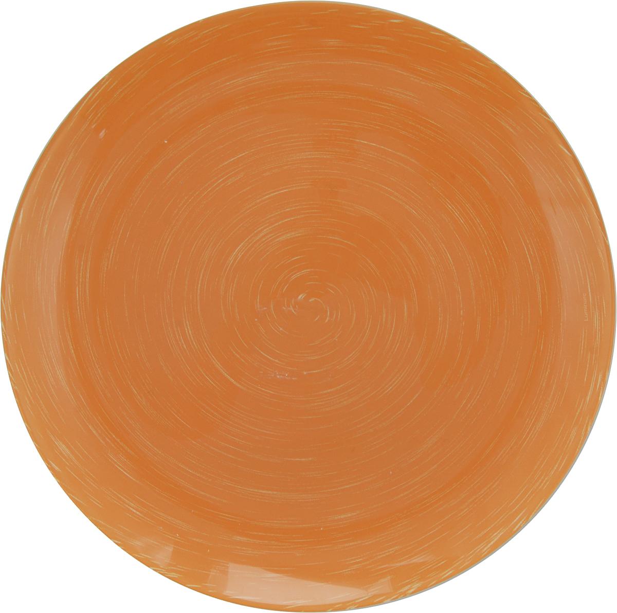 Тарелка обеденная Luminarc Stonemania Orange, диаметр 25 смH3556Обеденная тарелка Luminarc Stonemania Orange изготовлена из высококачественного стекла. Изделие сочетает в себе изысканный дизайн с максимальной функциональностью. Тарелка прекрасно впишется в интерьер вашей кухни и станет достойным дополнением к кухонному инвентарю. Такое изделие не только украсит ваш кухонный стол и подчеркнет прекрасный вкус хозяйки, но и станет отличным подарком. Диаметр тарелки: 25 см. Высота тарелки: 2 см.