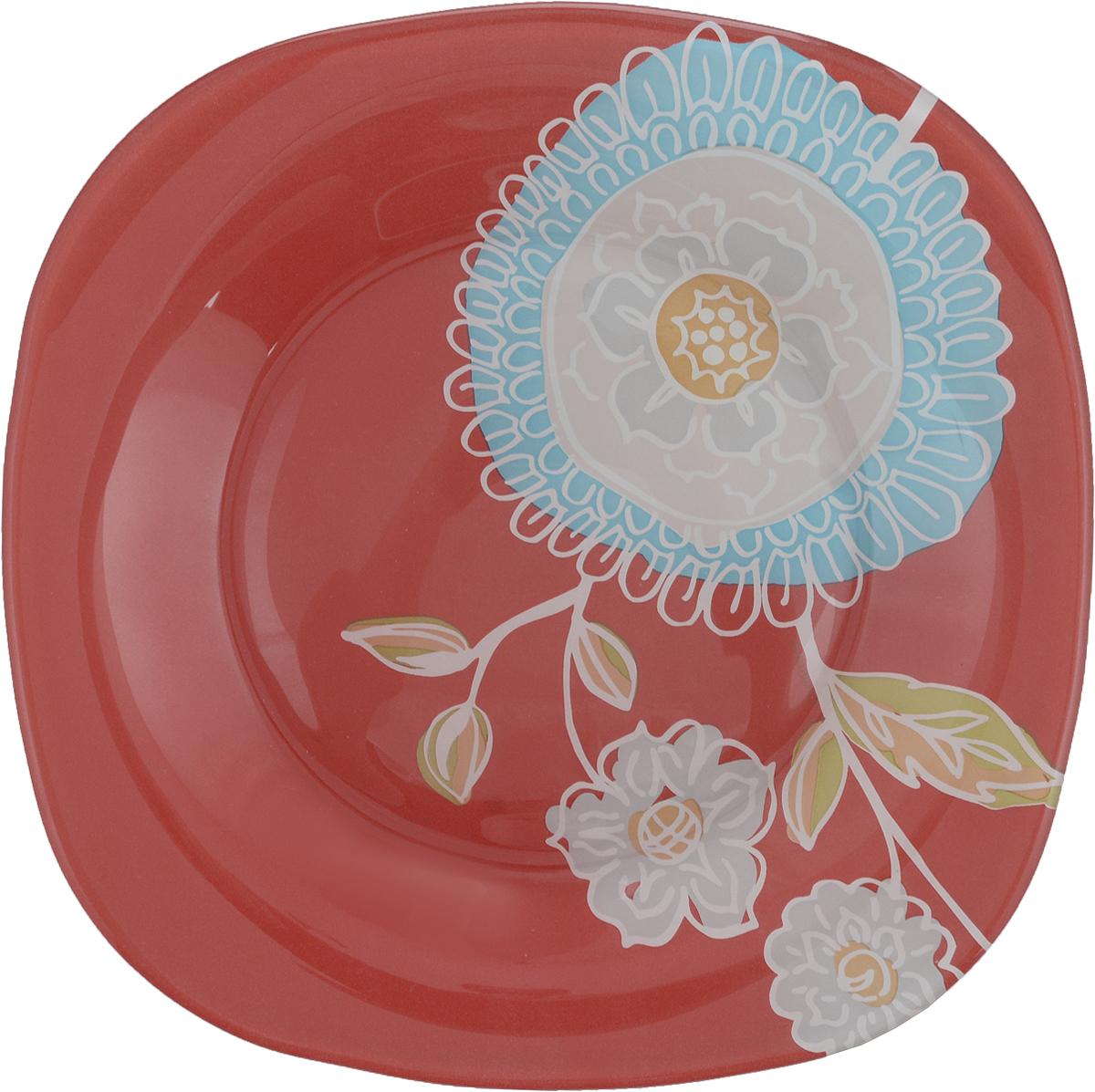 Тарелка десертная Luminarc Silene Glass, 18 х 18 смJ7829Десертная тарелка Luminarc Silene Glass, изготовленная из высококачественного стекла, имеет изысканный внешний вид. Такая тарелка прекрасно подходит как для торжественных случаев, так и для повседневного использования. Идеальна для подачи десертов, пирожных, тортов и многого другого. Она прекрасно оформит стол и станет отличным дополнением к вашей коллекции кухонной посуды. Размер тарелки: 18 х 18 см. Высота тарелки: 1,5 см.