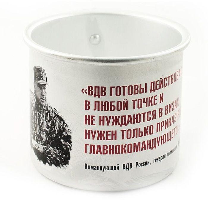 Кружка Эврика Шаманов, 500 мл97946Оригинальные алюминиевые кружки с нанесением