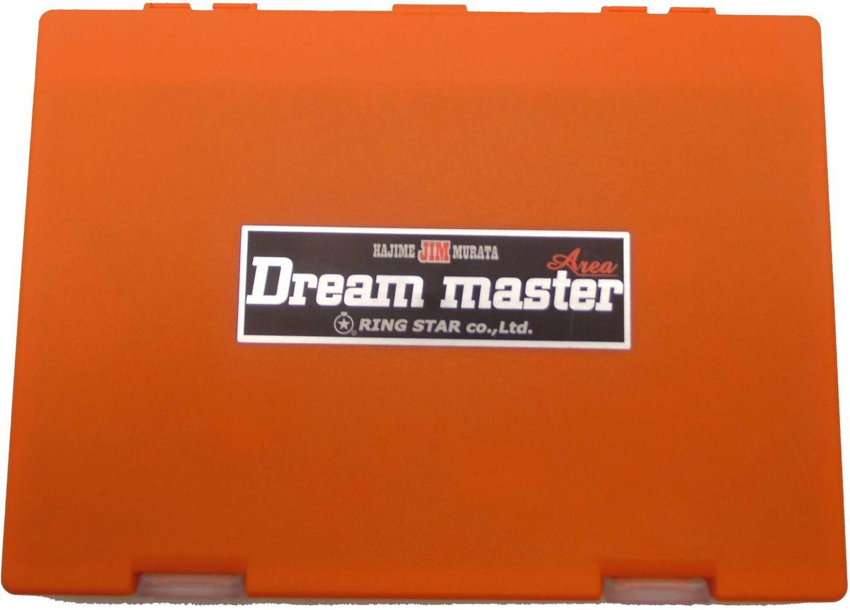 Коробка для микроблесен Ring Star Dream Master Area, цвет: оранжевый, 19,8 х 14,9 х 2 см105474Пластиковые коробки для микроблесен Dream Master Area от японского производителя Ring Star отлично подходят для хранения микровертушек и микроколебалок. Высокая надежность и отличное японское качество в совокупности с максимальным удобством будут по достоинству оценены как начинающими рыбаками, так и профессиональными спортсменами. Ударопрочный пластик позволяет сохранить содержимое коробки в целости при перевозках. Внутри коробок предусмотрены системы крепления для приманок на подвижных полимерных лентах на липучках. В комплекте к каждой коробке предусмотрено 4 ленты. В случае необходимости запасные ленты можно приобрести отдельно. Размеры коробки 198х149х20мм позволяют разместить до 100 блесен. Коробка оснащена пластиковым разделителем для предотвращения спутывания приманок. Замки коробки имеют сменную конструкцию и достаточно легко открываются и закрываются. Ключевыми свойствами коробок Dream Master Area являются долговечность и превосходная надежность, доказанная длительными...
