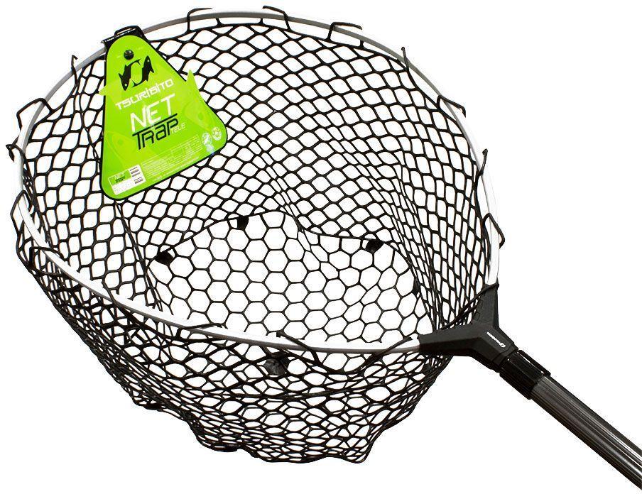 Подсачек Tsuribito Net Trap Tele, c силиконовой сеткой, телескопический, 140-210 х 46 х 46 см1418839_серыйУниверсальный подсак с силиконовой сеткой. Применяется для вытаскивания рыбы без повреждения снастей и самого улова. Подсак отлично справляется с большими нагрузками благодаря наличию ручки из высокопрочного материала. При переноске подсак очень удобен, занимает мало места. Сочетает в себе комфорт и удобство для максимально эффективных результатов рыбной ловли.