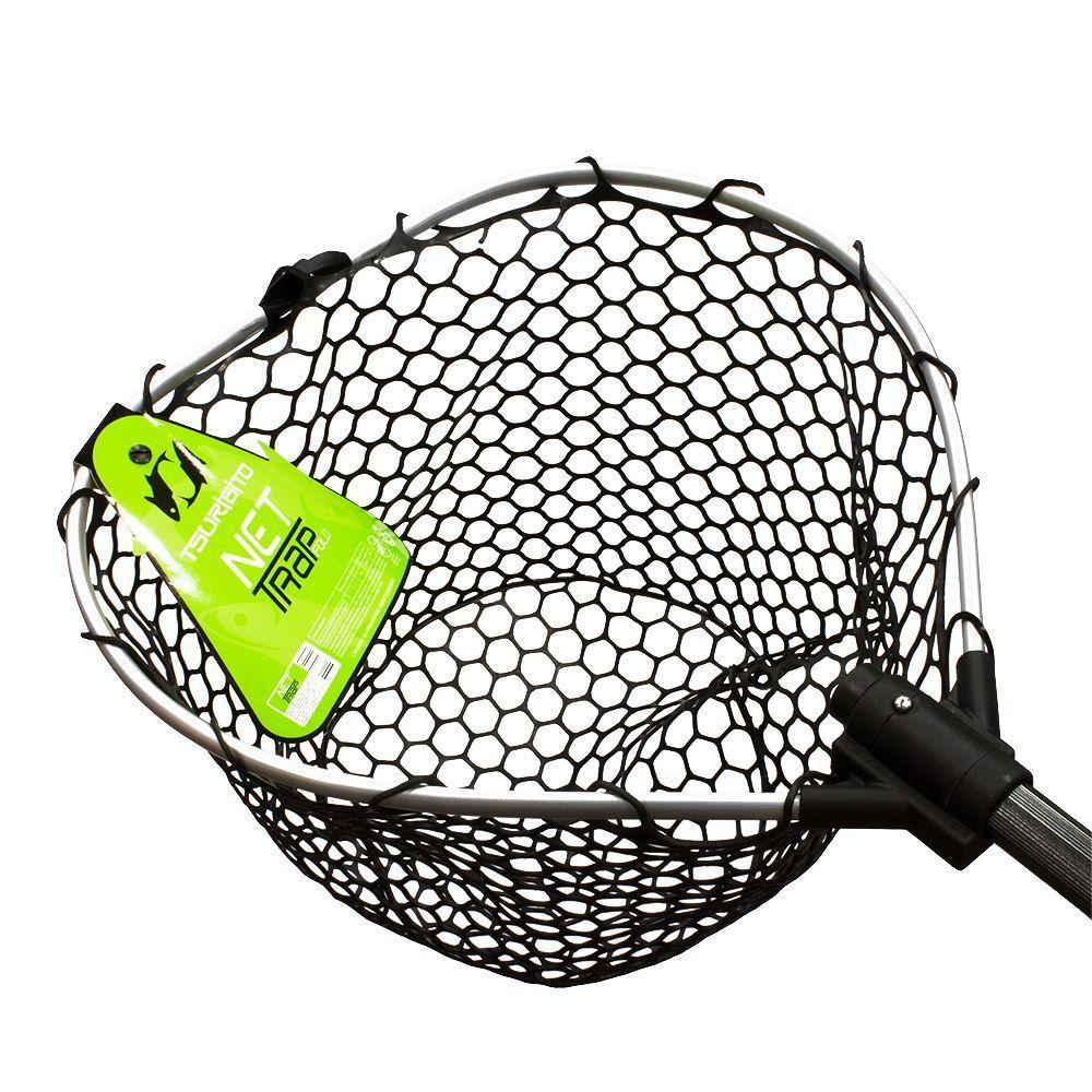 Подсачек Tsuribito Net Trap Fold, с силиконовой сеткой, складной, 150 х 38 х 38 см67945Универсальный подсак с силиконовой сеткой. Применяется для вытаскивания рыбы без повреждения снастей и самого улова. Подсак отлично справляется с большими нагрузками благодаря наличию ручки из высокопрочного материала. При переноске подсак очень удобен, занимает мало места. Сочетает в себе комфорт и удобство для максимально эффективных результатов рыбной ловли.