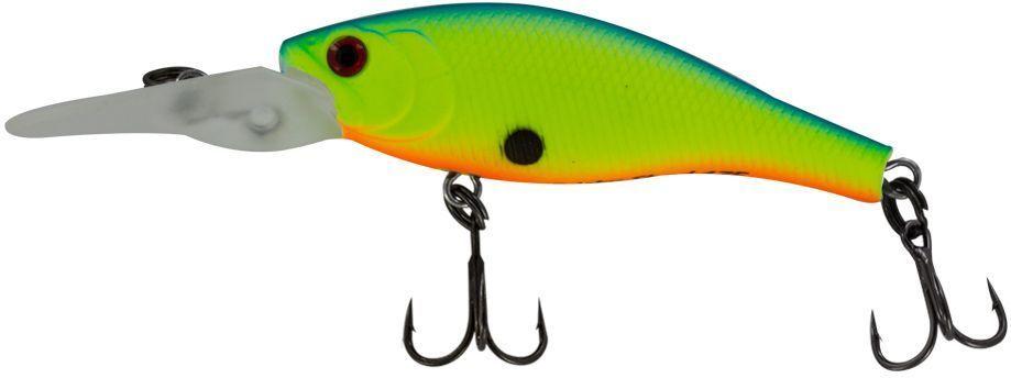 Воблер Yoshi Onyx Frisky Shad-38 F-MR, цвет: 334 (зеленый)03/1/12Еще один малыш от Yoshi Onyx - Frisky Shad 38F. Неглубокие, прогреваемые прибрежные зоны во второй половине лета становятся прибежищем рыбьей молоди. Frisky Shad 38F вполне впишется в эту компанию. Различные способы анимации заставят Frisky Shad 38F имитировать растерявшегося хаотически суетящегося малька,и внимательный хищник не упустит своего шанса.