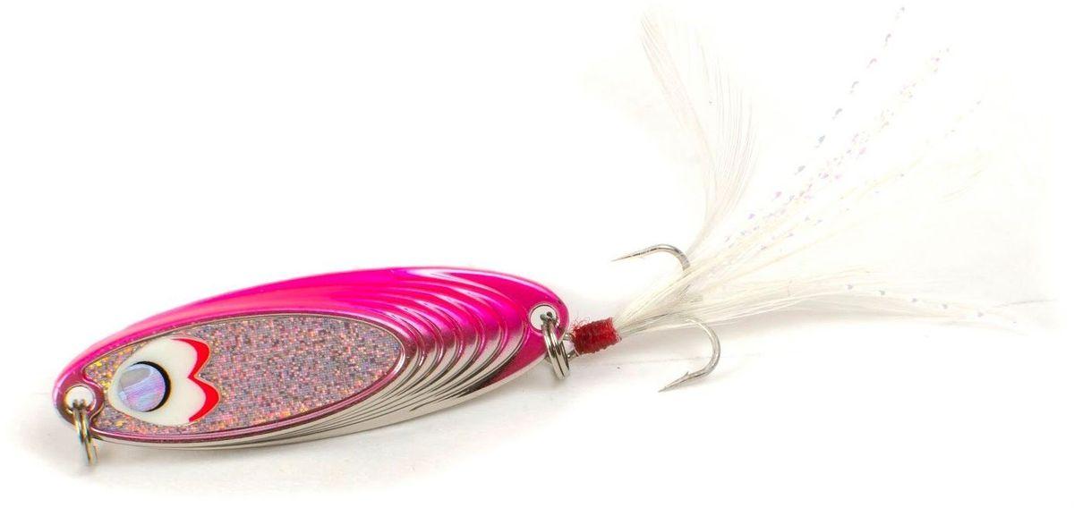 Блесна Yoshi Onyx Yalu Must, 5 г, цвет: P (белый, розовый)44601Блесна Yoshi Onyx Yalu Must - уникальная, изготовленная с ювелирной точностью, выделяющаяся тщательно рассчитанным и скрупулёзно проверенным, сложным, многогранным профилем, приманка для ловли рыбы. Устойчивые колебания, без остановок и свалов, и отменные баллистические характеристики Must позволяет облавливать как обширные водные акватории так и быстро текущие потоки.