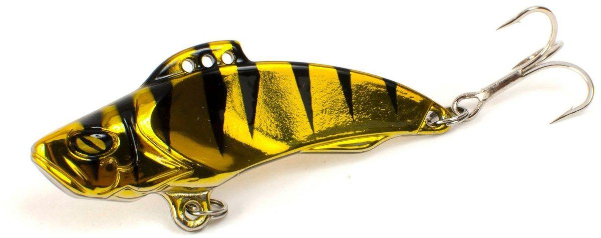 Блесна Yoshi Onyx Yalu Vib, 21 г, цвет: 7 (золотой, черный)95774Блесна Yoshi Onyx Yalu Vib - идеальный выбор для ловли практически всех видов рыб в различных условиях и на любых водоёмах и впечатляет своими формами. Чуткий к любым вариантам анимации и замечателен не только на вертикальных проводках при ловле из подо льда, но и удивительно хорош на длинных равномерных прогонах по открытой воде.