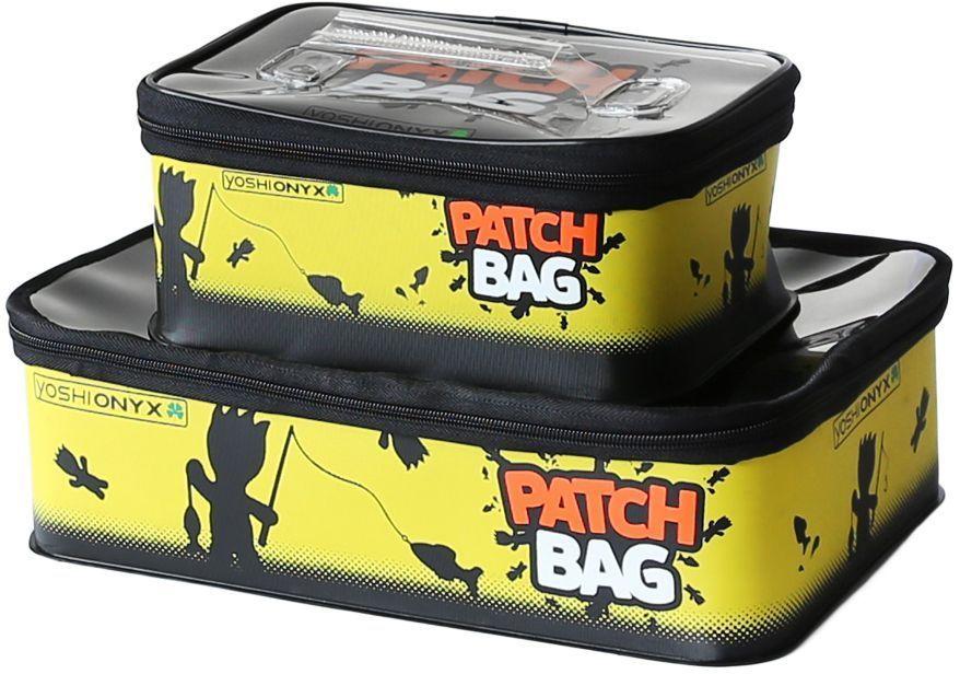 """Набор коробок для снастей Yoshi Onyx """"Patch Bag"""", цвет: черный, желтый, 2 шт 96809"""