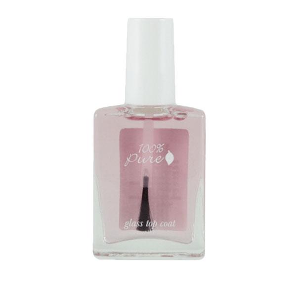 100% Pure Лак для ногтей: Верхнее покрытие 14,7 мл1NPTOPОбеспечивает ногтям длительный зеркальный блеск и защиту.