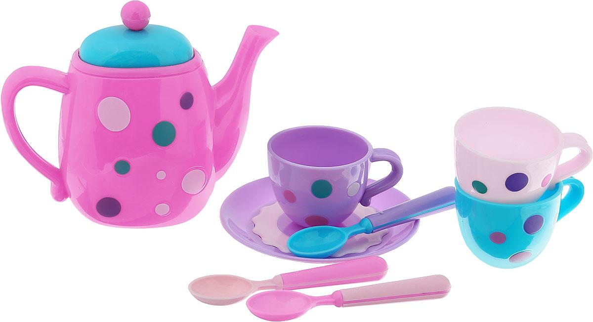 Подробнее о ABtoys Игрушечный кофейный сервиз 8 предметов abtoys игрушечный набор инструментов 26 предметов