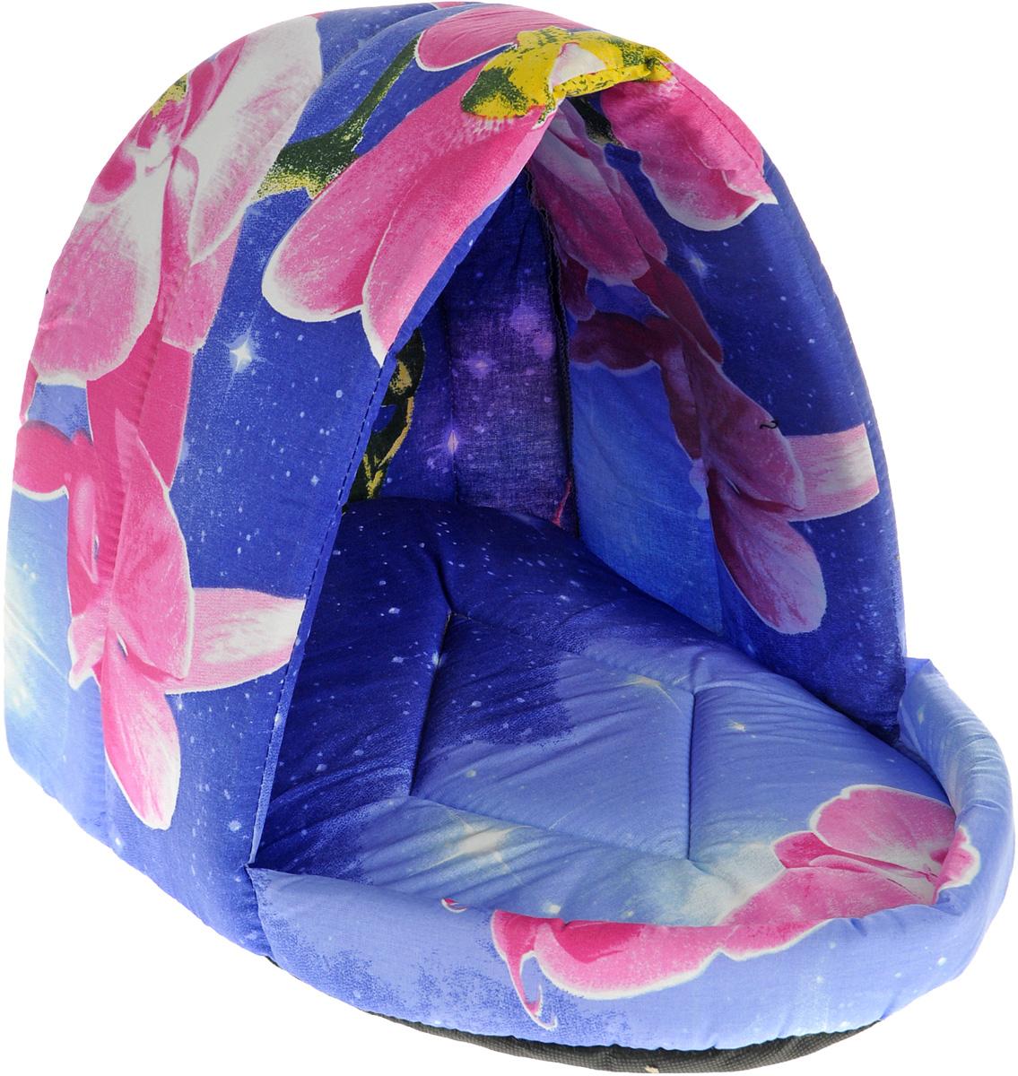 Лежак для животных Elite Valley Люлька, цвет: синий, розовый, 44 х 35 х 35 см. Л-11/30120710Лежак Elite Valley Люлька непременно станет любимым местом отдыха вашего домашнего животного. Изделие выполнено из бязи и нетканого материала, а наполнитель - из поролона. Такой материал не теряет своей формы долгое время. Внутри имеется мягкая съемная подстилка.На таком лежаке вашему любимцу будет мягко и тепло. Он подарит вашему питомцу ощущение уюта и уединенности, а также возможность спрятаться.