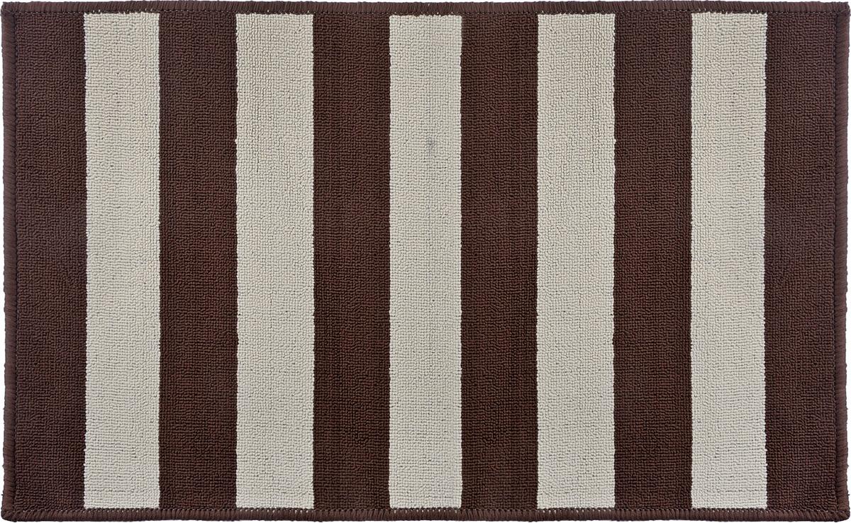 Коврик Vortex Dublin, цвет: коричневый, бежевый, 50 х 80 смUP210DFВорс коврика Vortex изготовлен из 100% полипропилена. Коврик оснащен выполненной из латекса подложкой, которая препятствует скольжению. Коврик Vortex гармонично впишется в интерьер вашего дома и создаст атмосферу уюта и комфорта. Изделие отлично подойдет как для использования в доме, так и снаружи.