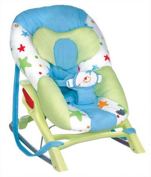 Bebe Confort Кресло-качалка Cocon Evolution цвет голубой зеленый 28167600