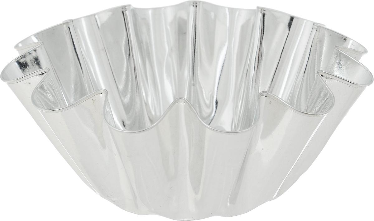 Форма для выпечки Кварц, диаметр 13 смКФ-08.000Форма Кварц, выполненная из высококачественной жести, предназначена для выпечки и приготовления желе. Стенки изделия рельефные. С формой Кварц вы всегда сможете порадовать своих близких оригинальной выпечкой. Диаметр формы (по верхнему краю): 13 см. Высота формы: 4,5 см.