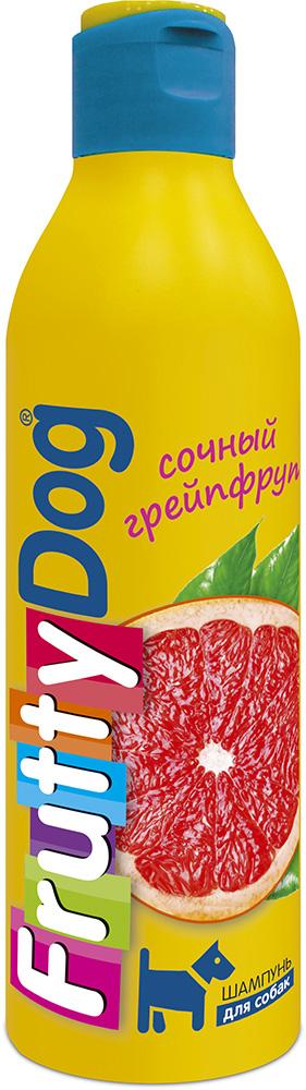 Шампунь для собак АВЗ FruttyDog. Сочный грейпфрут, 250 мл0120710Шампунь для собак с ярким ароматом грепфрута, подходит ля частого применения