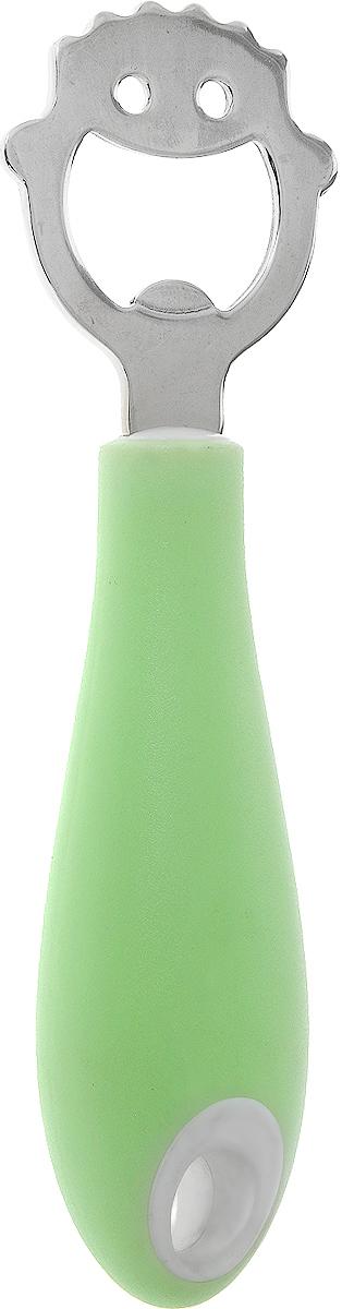 Открывалка для бутылок Tescoma Quido, длина 14 см470028Открывалка Tescoma Quido необходима для удобного открывания бутылок с кроненпробкой. Изготовлена из первоклассной нержавеющей стали и прочной пластмассы. Ручка приспособлена для подвешивания на крючок. Открывалка для бутылок Tescoma Quido станет прекрасным дополнением к кухонной утвари. Можно мыть в посудомоечной машине. Длина открывалки: 14 см. Размер рабочей части: 4 х 4,5 см.