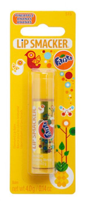 Lip Smacker Бальзам для губ Fanta ананасовыйFS-00103Lip Smacker – это оригинальные блески и бальзамы для губ с самыми разнообразными ароматами. Прекрасно смягчают и увлажняют губы, придавая им сияние.