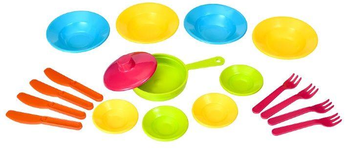 Росигрушка Набор детской посуды Первый блин