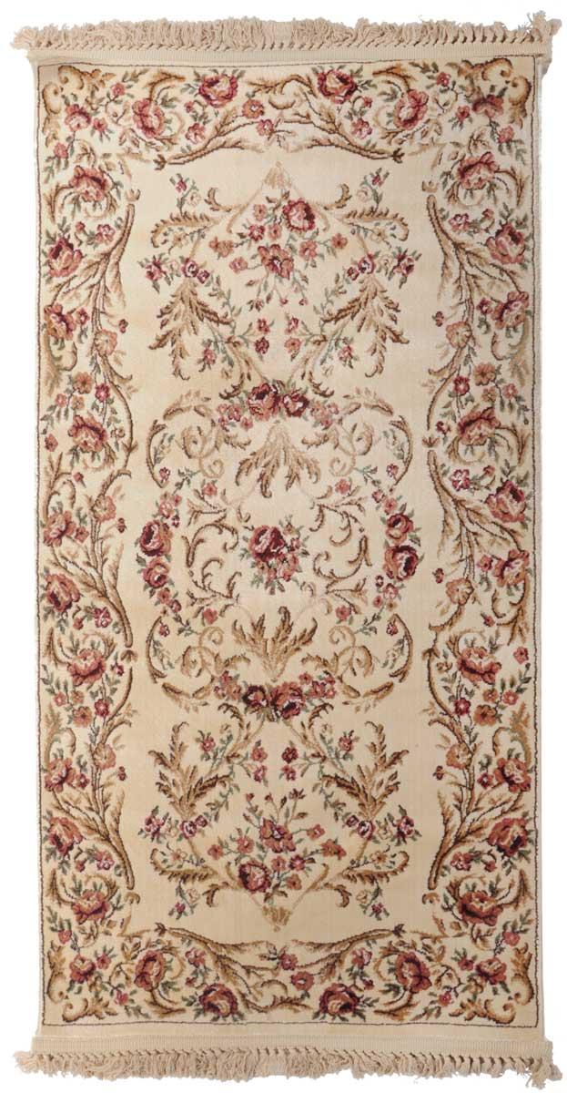 Ковер Mutas Carpet Силк Эверест, 80 х 150 см. 20342013021218396310503Ковер Mutas Carpet, изготовленный из высококачественного материала, прекрасно подойдет для любого интерьера. За счет прочного ворса ковер легко чистить. При надлежащем уходе синтетический ковер прослужит долго, не утратив ни яркости узора, ни блеска ворса, ни упругости. Самый простой способ избавить изделие от грязи - пропылесосить его с обеих сторон (лицевой и изнаночной). Влажная уборка с применением шампуней и моющих средств не противопоказана. Хранить рекомендуется в свернутом рулоном виде.