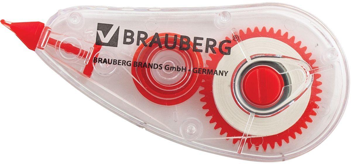 Brauberg Корректирующая лента Red Power 5 мм х 6 м220641Корректирующая лента Brauberg Red Power обеспечивает моментальное исправление ошибок, отличное письмо по исправленному и не требует времени для высыхания. Лента является отличным средством для корректировки строчного текста. Подходит для всех типов бумаг. Размер 5 мм на 6 м.