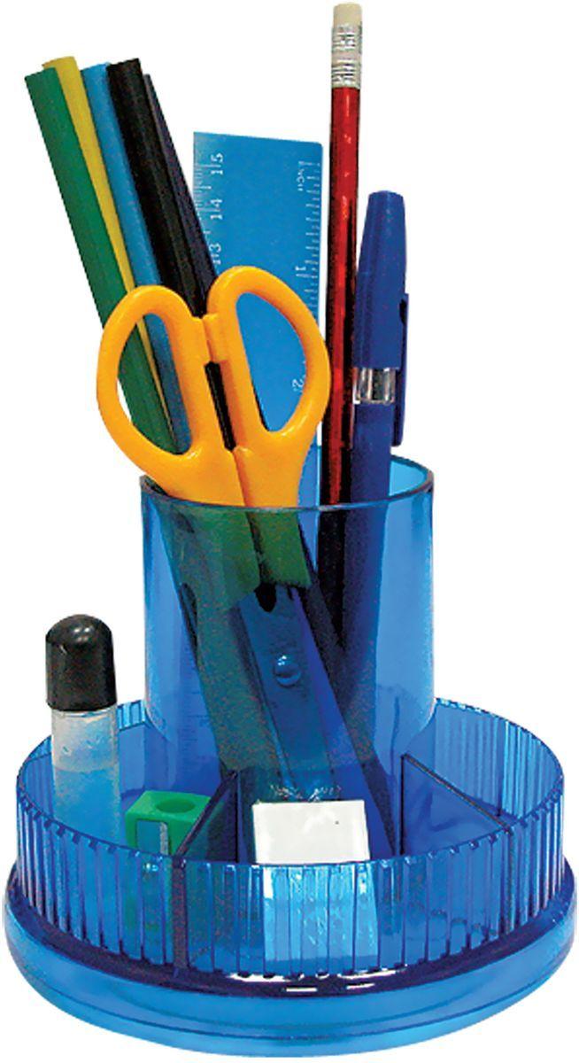 Staff Канцелярский набор Школьный эконом 9 предметов611500Канцелярский набор Staff Школьный эконом на вращающейся подставке позволяет эффективно организовать рабочее место.В набор входят: 2 ручки, 2 карандаша, степлер, антистеплер, бумага для заметок, стирательная резинка, скобы №10, скрепки, ножницы, канцелярский нож, точилка, линейка.