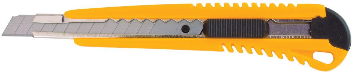 Brauberg Нож канцелярский 9 мм 230916230916Нож канцелярский Brauberg предназначен для резки бумаги. Удобная ручка ножа обеспечивает комфортное использование с максимальной безопасностью. Стальное лезвие двигается по металлическим направляющим. Ширина лезвия 9 мм.