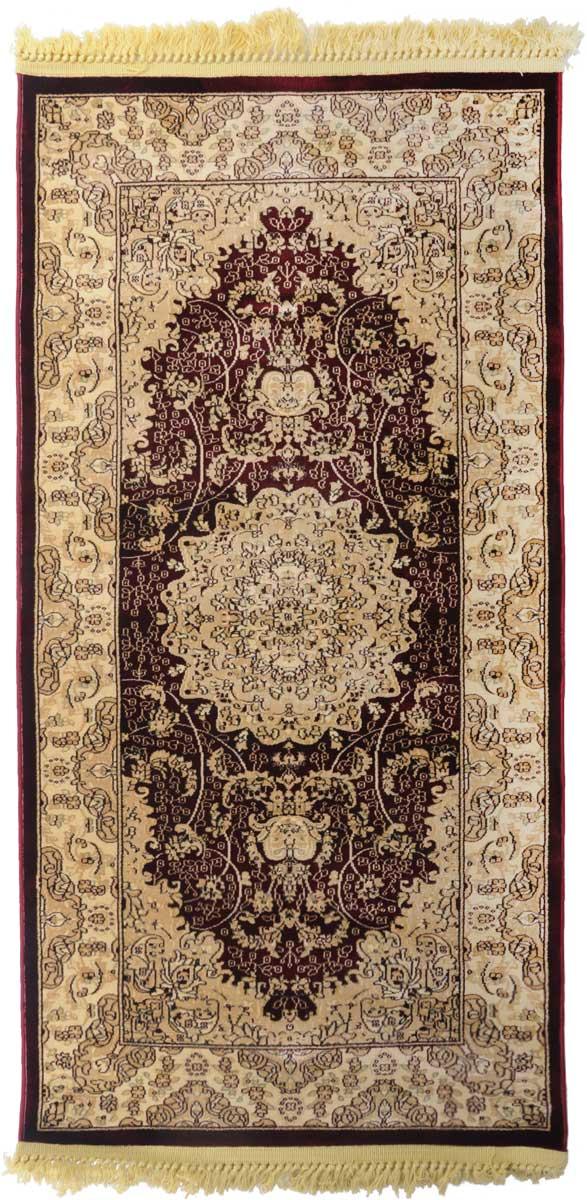 Ковер Mutas Carpet Силк, 80 х 150 см. 203420130212180240154_черныйКовер Mutas Carpet, изготовленный из высококачественного материала, прекрасно подойдет для любого интерьера. За счет прочного ворса ковер легко чистить. При надлежащем уходе синтетический ковер прослужит долго, не утратив ни яркости узора, ни блеска ворса, ни упругости. Самый простой способ избавить изделие от грязи - пропылесосить его с обеих сторон (лицевой и изнаночной). Влажная уборка с применением шампуней и моющих средств не противопоказана. Хранить рекомендуется в свернутом рулоном виде.