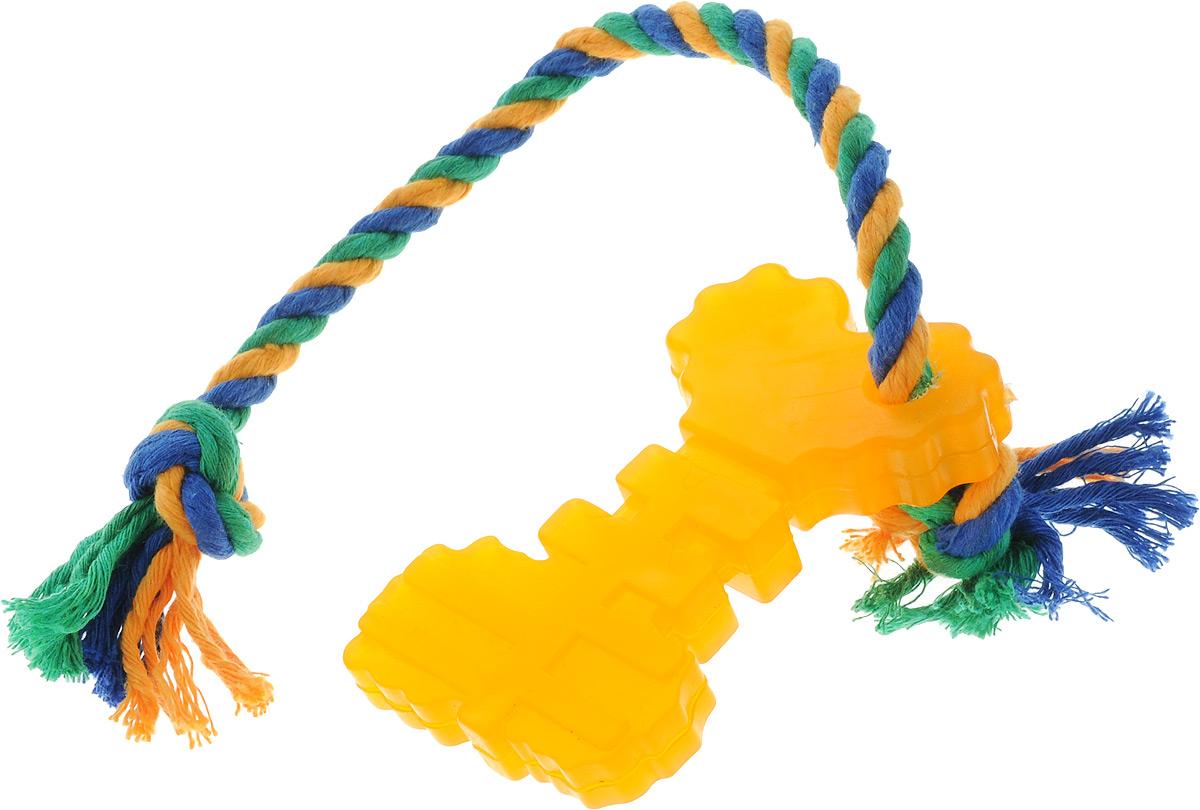"""Игрушка для собак Doglike """"Ключ"""", с канатом, длина 37 см D11-1094"""