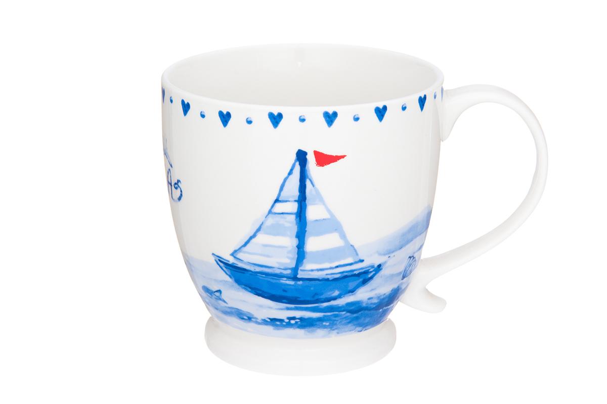 Кружка на ножке Elan Gallery Морское путешествие, 450 мл230113/морское путешествиеКружка с удобной ручкой. Подходят для любых горячих и холодных напитков, чая, кофе, какао. Изделие имеет подарочную упаковку, поэтому станет желанным подарком для Ваших близких! Объем кружки: 450 мл.