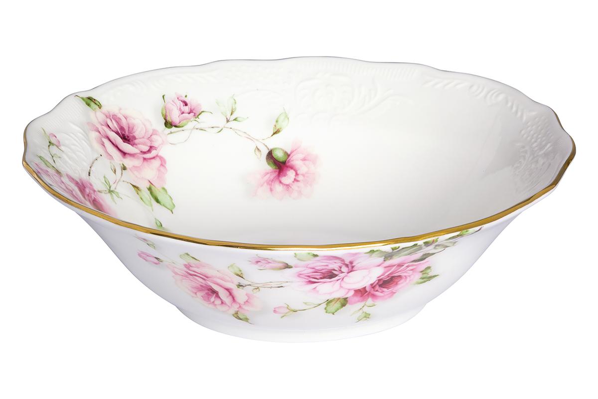 Салатник Elan Gallery Амалия, 420 мл530078/амалияВеликолепный салатник Elan Gallery Амалия, изготовленный из высококачественного фарфора, прекрасно подойдет для подачи различных блюд: закусок, салатов или фруктов. Такой салатник украсит ваш праздничный или обеденный стол, а оригинальное исполнение понравится любой хозяйке. Не рекомендуется применять абразивные моющие средства. Не использовать в микроволновой печи. Диаметр салатника (по верхнему краю): 15 см. Высота салатника: 4,5 см.