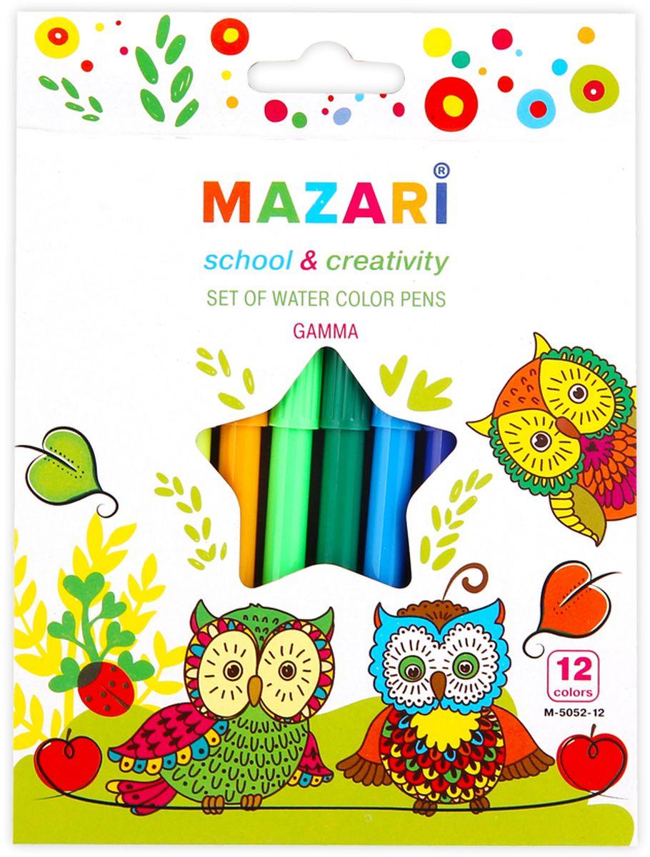 все цены на  Mazari Набор фломастеров Gamma 12 цветов  в интернете