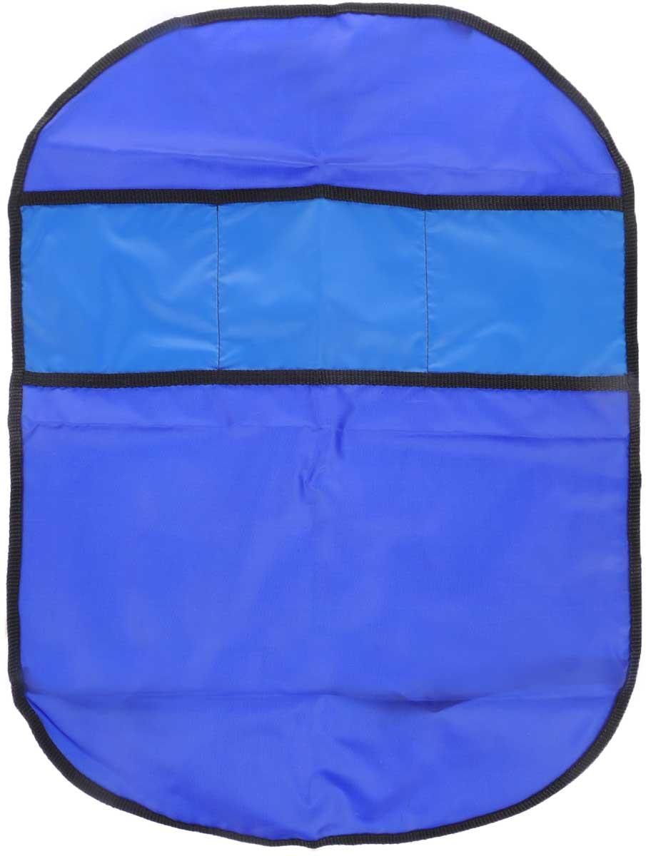 Органайзер автомобильный Главдор, на спинку сиденья, цвет: темно-синий, синий, 61 х 44 смGL-442_темно-синий,синийПлоский автомобильный органайзер Главдор с тремя карманами, выполненный из ткани оксфорд, предназначен для размещения на спинку сиденья. Закрепляется при помощи эластичных лент. Органайзер позволит компактно упаковать большое количество вещей. Сохранит свободное пространство машины. Размер органайзера: 61 х 44 см.