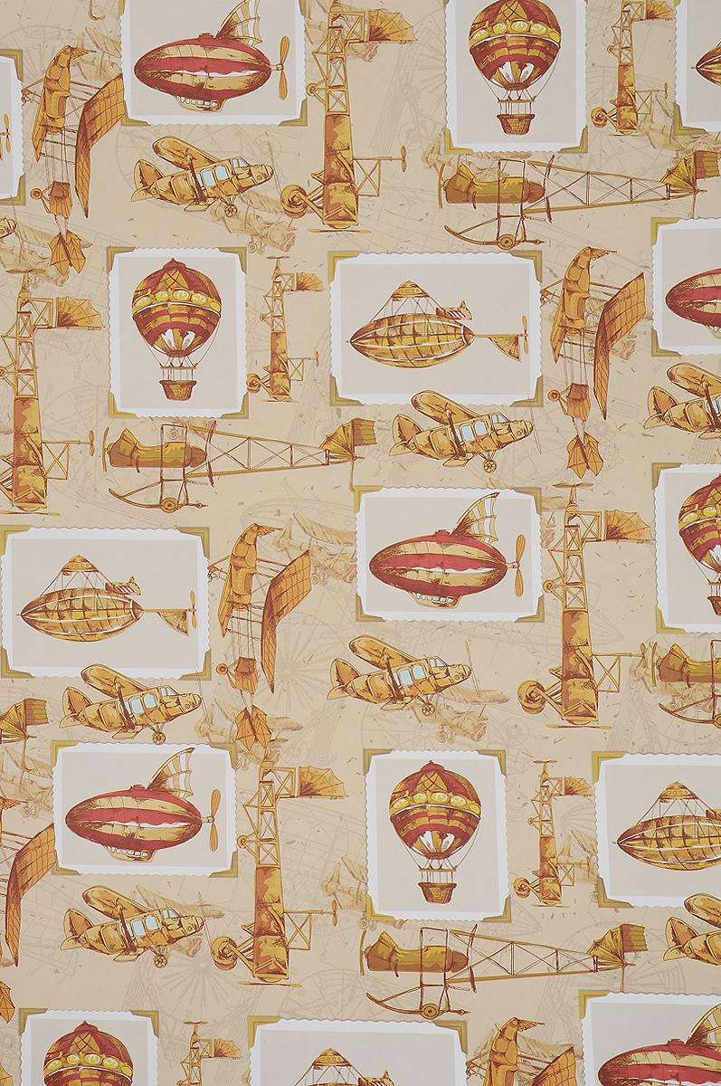 Бумага упаковочная Феникс-Презент Самолеты и дирижабли, 100 х 70 см41884Упаковочная бумага Феникс-Презент Самолеты и дирижабли оформлена полноцветным декоративным рисунком. Подарок, преподнесенный в оригинальной упаковке, всегда будет самым эффектным и запоминающимся. Бумага с одной стороны мелованная. Окружите близких людей вниманием и заботой, вручив презент в нарядном, праздничном оформлении. Размер: 100 х 70 см. Плотность бумаги: 80 г/м2.
