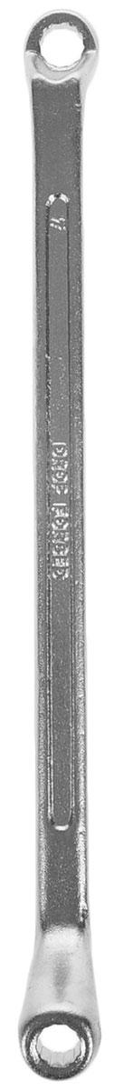 Ключ гаечный накидной Helfer, 6 х 7 мм2706 (ПО)Накидной гаечный ключ Helfer станет отличным помощником монтажнику или владельцу авто. Этот инструмент обеспечит надежную фиксацию на гранях крепежа. Благодаря изогнутым головкам вы обеспечите себе удобный доступ к элементам крепежа и безопасность. Длина ключа: 18 см.