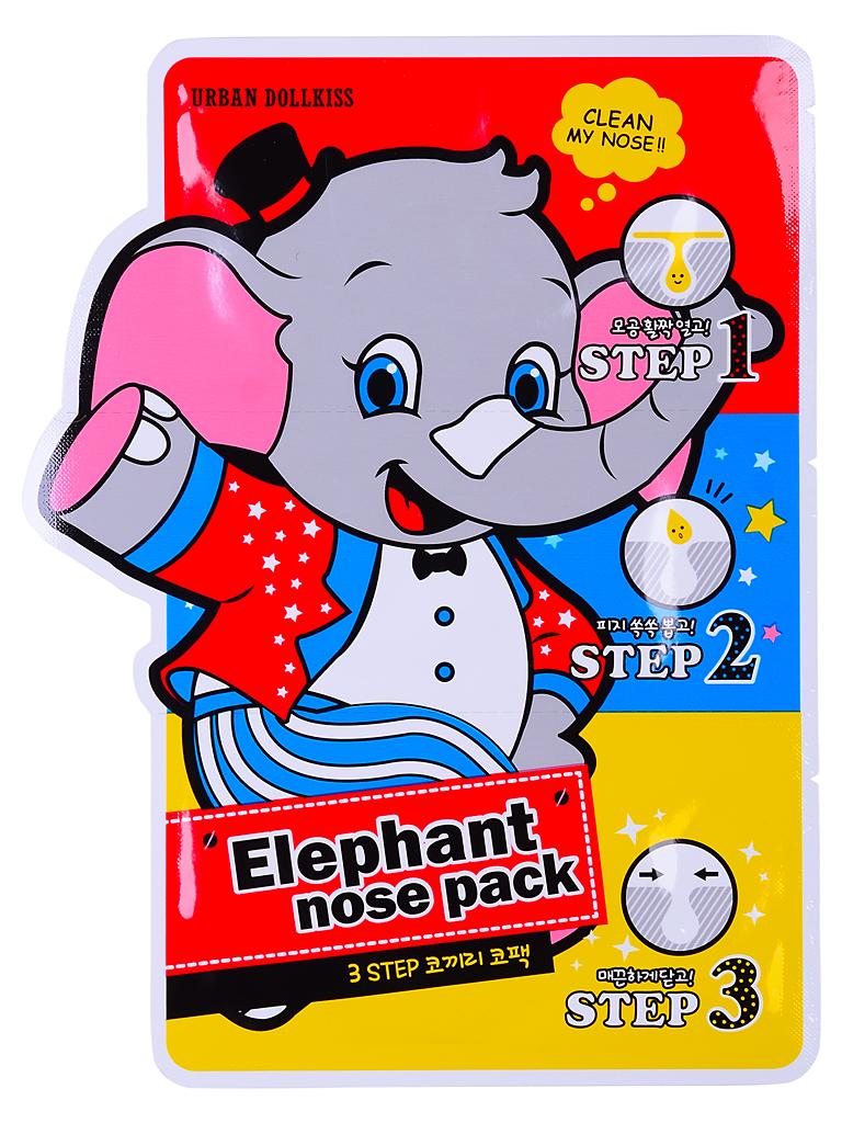 Urban Dollkiss Маска против черных точек 3-Step Elephant Nose Pack, 3 млБХ77Маска для борьбы с черными точками и расширенными порами в области носа.Трехступенчатая система позволяет глубоко и эффективно очистить поры и предотвратить их загрязнение в дальнейшем.