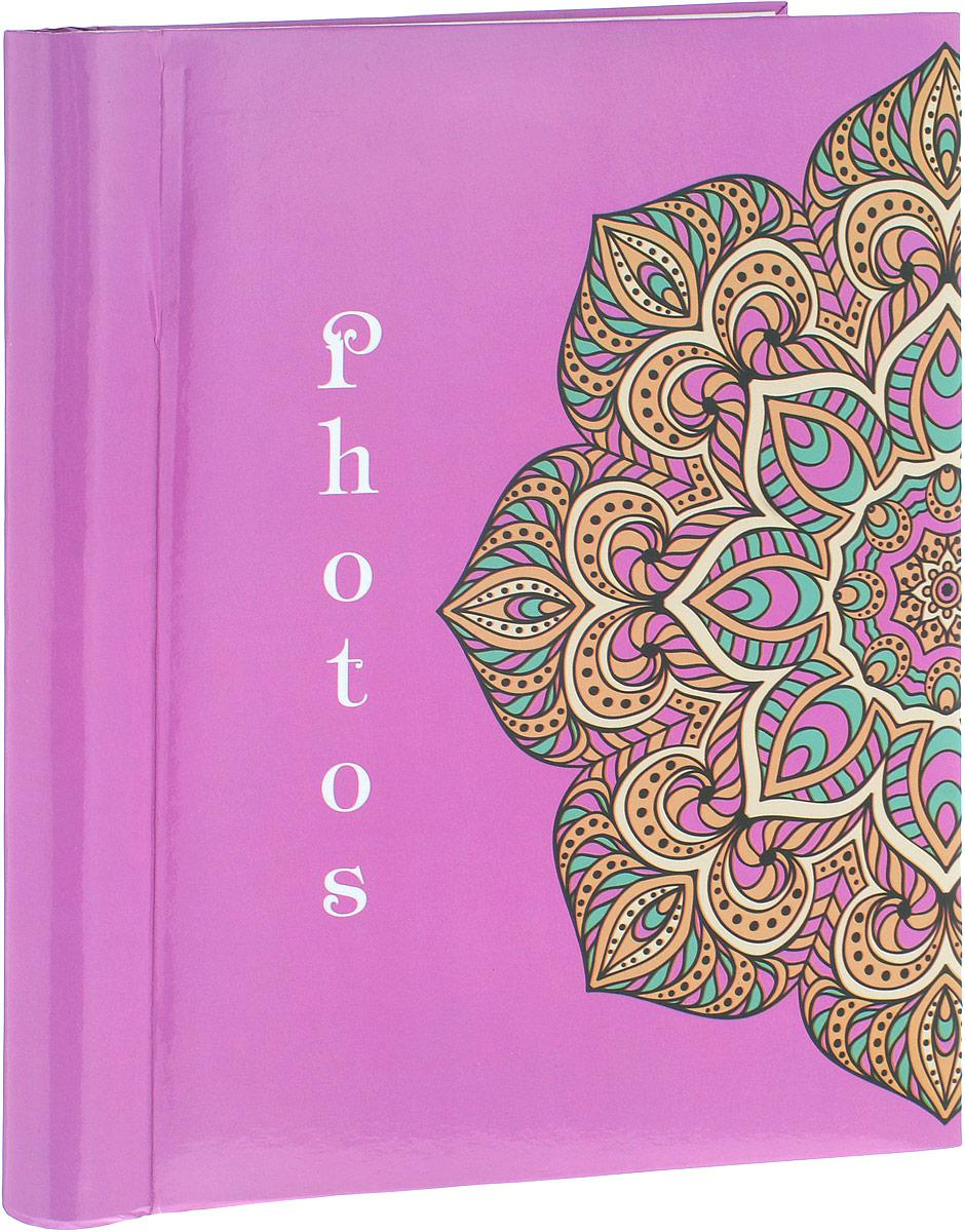 Фотоальбом Platinum Орнамент, 20 листов, цвет: розовый. 9821ES-412Фотоальбом Platinum Орнамент, изготовленный из ламинированного картона с клеевым покрытием и пленки ПВХ, поможет сохранить вам самые важные и счастливые события вашей жизни. Этот альбом станет драгоценной памятью для всей вашей семьи. Обложка выполнена из толстого картона и оформлена оригинальным рисунком. Внутри содержится 20 магнитных листов, которые крепятся с помощью спирали. Нам всегда так приятно вспоминать о самых счастливых моментах жизни, запечатленных на фотографиях. Размер листа: 23 х 28 см.