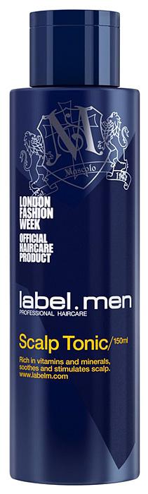 Label.m Тоник для кожи головы для мужчин 150 млMP59.4DLabel.M Men Scalp Tonic: Тоник для кожи головы подходит для всех типов волос, особенно для тонких и редких волос. Успокаивает жжение, зуд и сухость. Предотвращает появление старения и продлевает здоровый рост волос. Комбинация витаминов и минералов выступает в роли мощного антиоксиданта, тем самым поддерживая здоровье кожи головы и стимулируя здоровый рост волос.