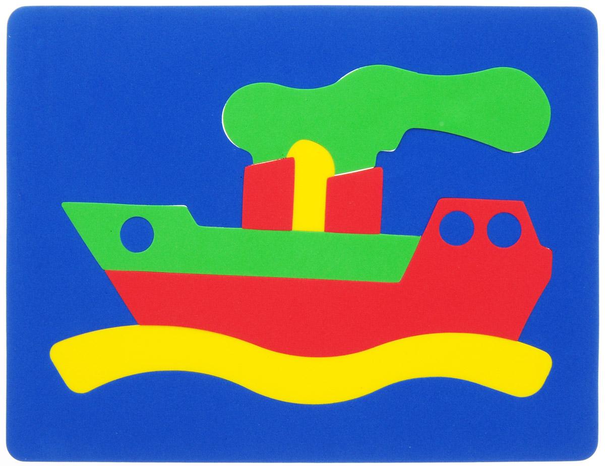 Фантазер Мягкая мозаика Кораблик 063551К_Цвет основы: синий