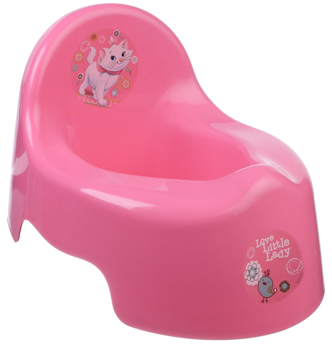 Disney Горшок детский цвет розовый М 2595-Д_коралловый