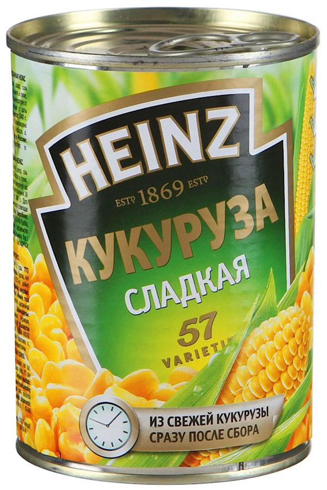 Heinz кукуруза, 340 г 7600657