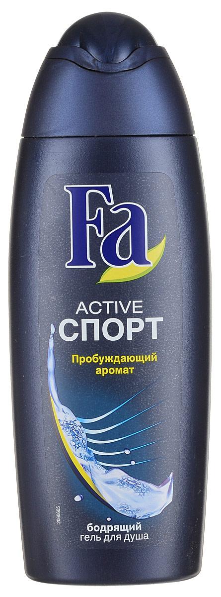 FA MEN Гель для душа ACTIVE Спорт, 250 мл12052670- Ухаживающая формула, заряжающая кожу энергией - Насыщенный, придающий энергию аромат - Подходит для ежедневного использования в качестве шампуня. Хорошая переносимость кожей подтверждена дерматологами. Применение: нанести на влажную кожу, вспенить и смыть. Также откройте для себя антиперспиранты Fa MEN. Более подробную информацию можно найти на сайте: http://www.ru.fa.com/fa-men/ru/ru/home/duschgel/sport/showergel-active-sport.html