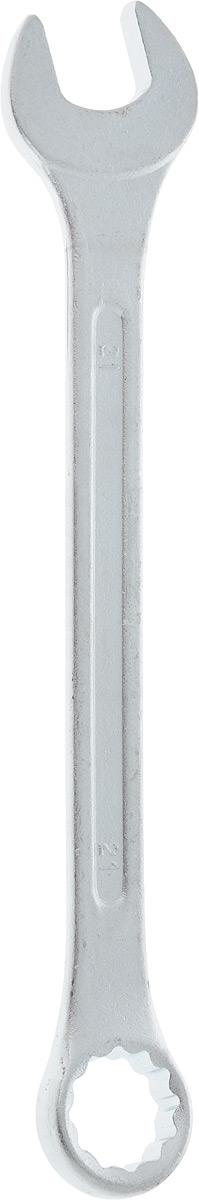 Ключ гаечный комбинированный Helfer, 21 ммHF002015Комбинированный ключ Helfer предназначен для работы с резьбовыми соединениями. Разрезные головки ключей обеспечивают надежный обхват детали и большой крутящий момент. Размеры зева (отверстия) отвечают всем стандартам. Ключ выполнен из углеродистой стали, которая отличается повышенной прочностью. Такой инструмент станет отличным помощником монтажнику или владельцу авто. Длина ключа: 25 см. Диаметр головки: 21 мм.